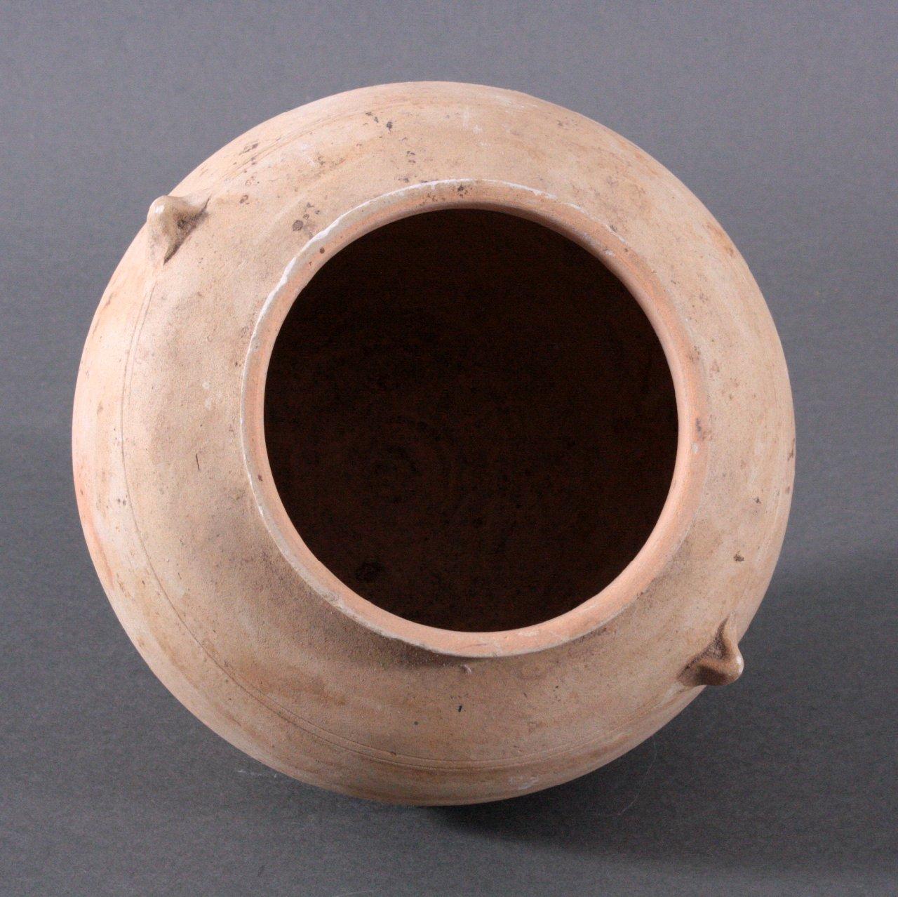 Rundes Vorratsgefäße, Angkor-Periode 12./13. Jh.-1