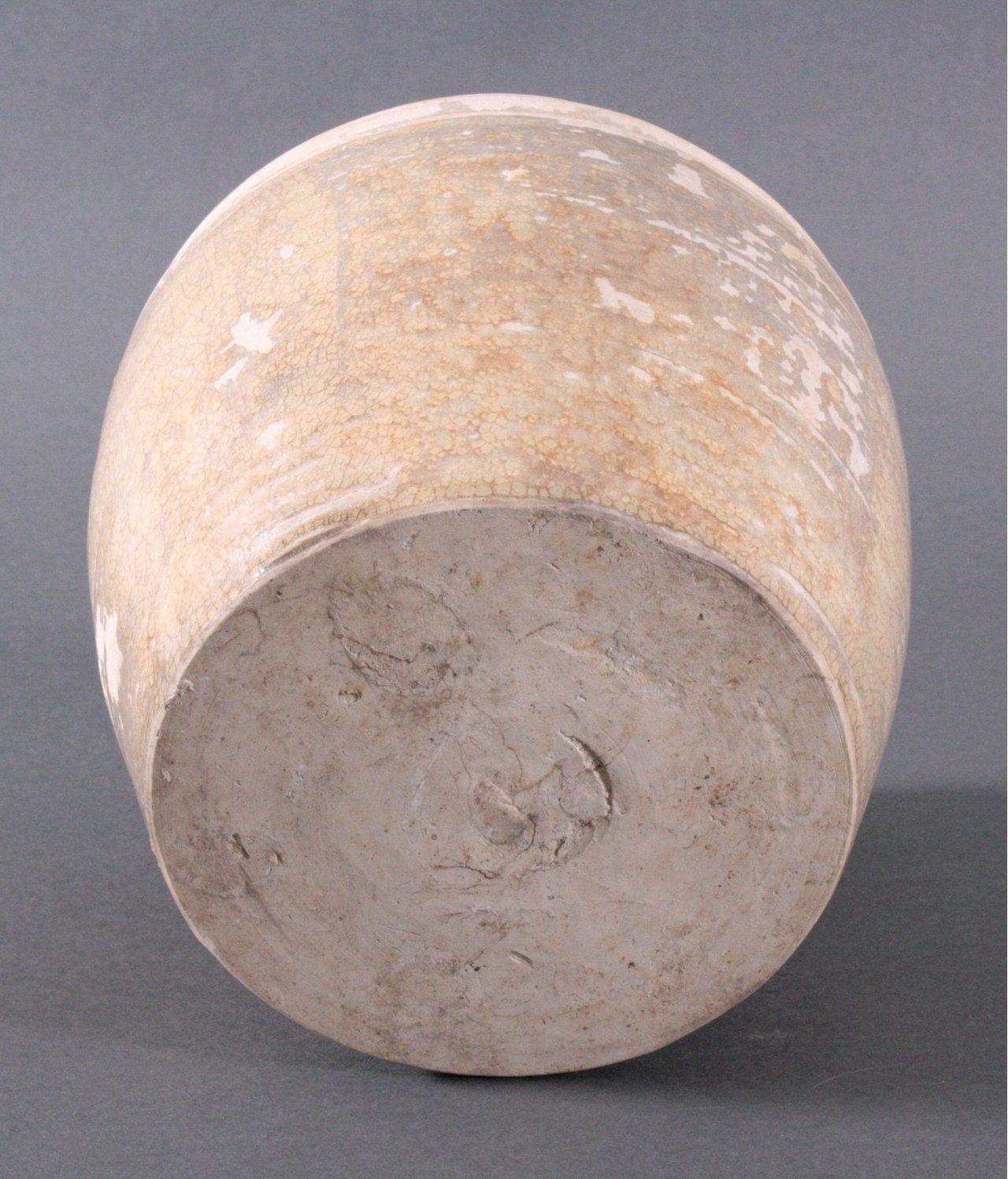 Rundes Vorratsgefäße, Angkor-Periode 12./13. Jh.-3