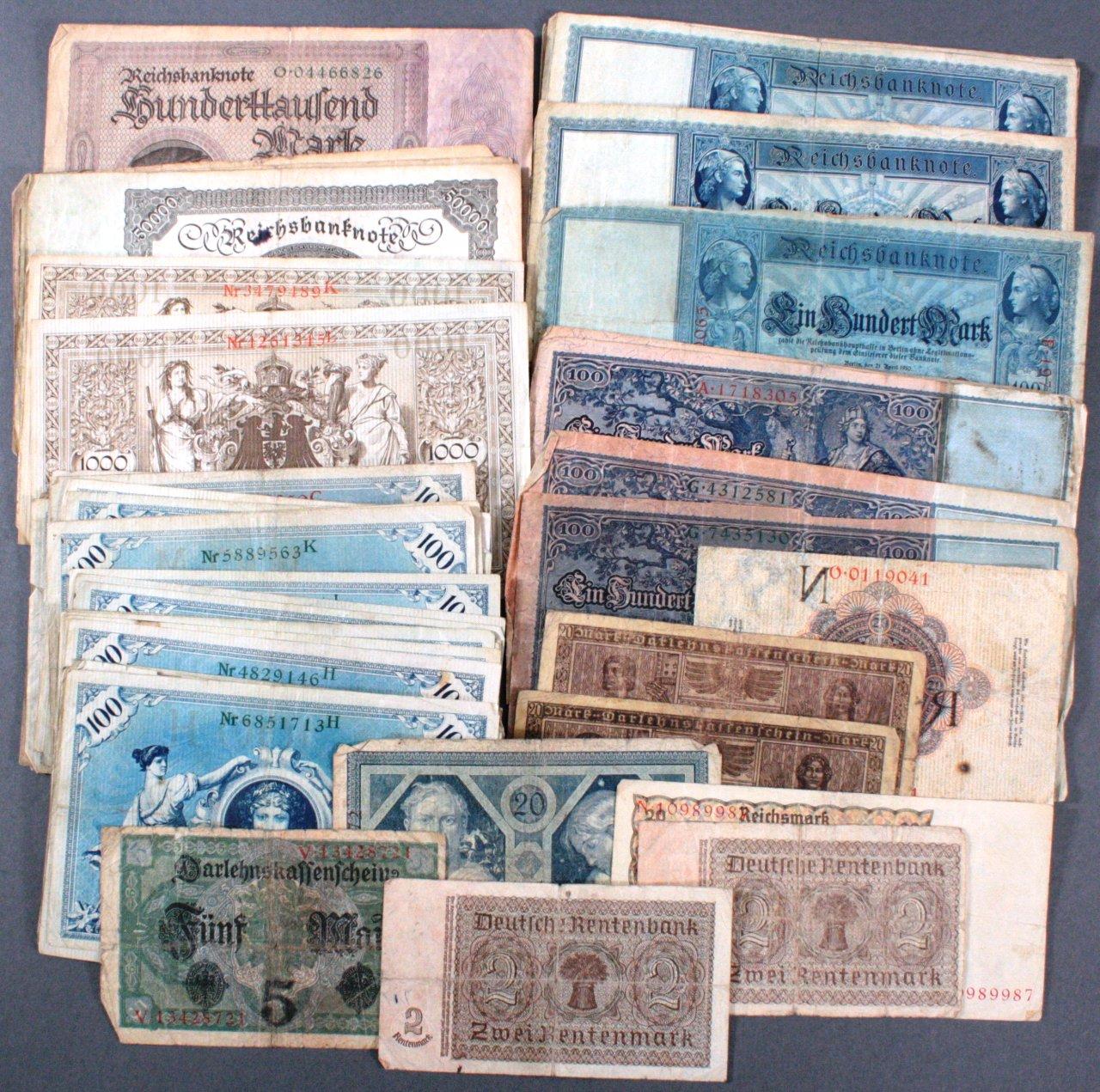 64 Banknoten