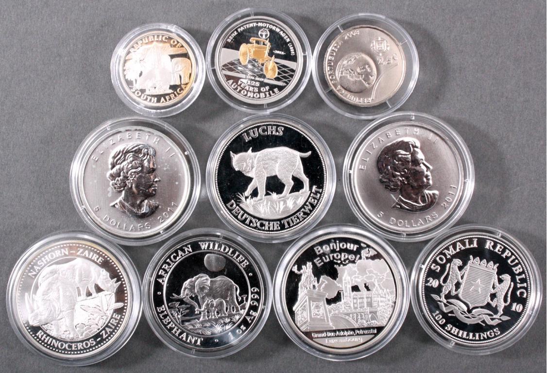 Silber Anlagemünzen und Medaillen, Ale Welt
