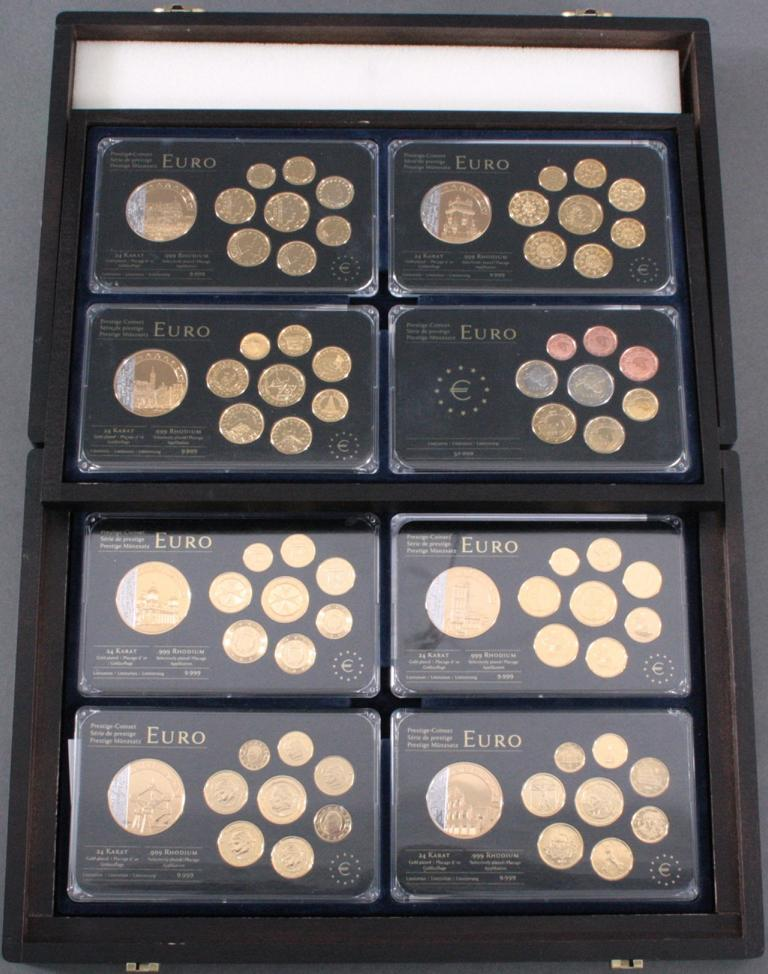 Euro Prestige Münzsätze