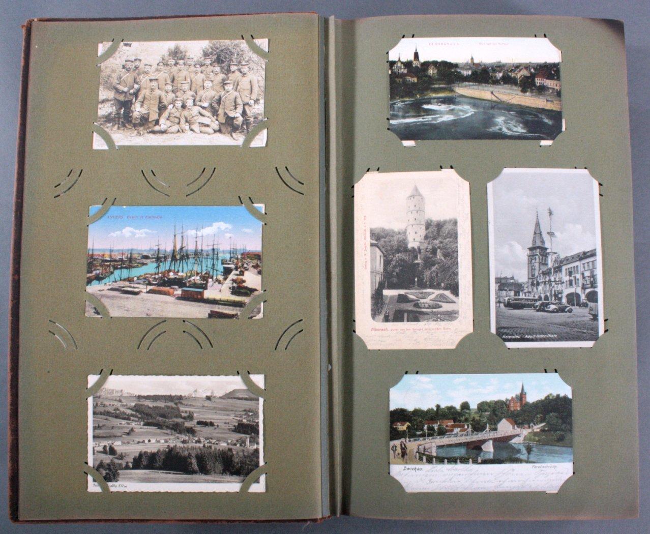 Komplett gefülltes Album mit 346 Ansichtskarten-2