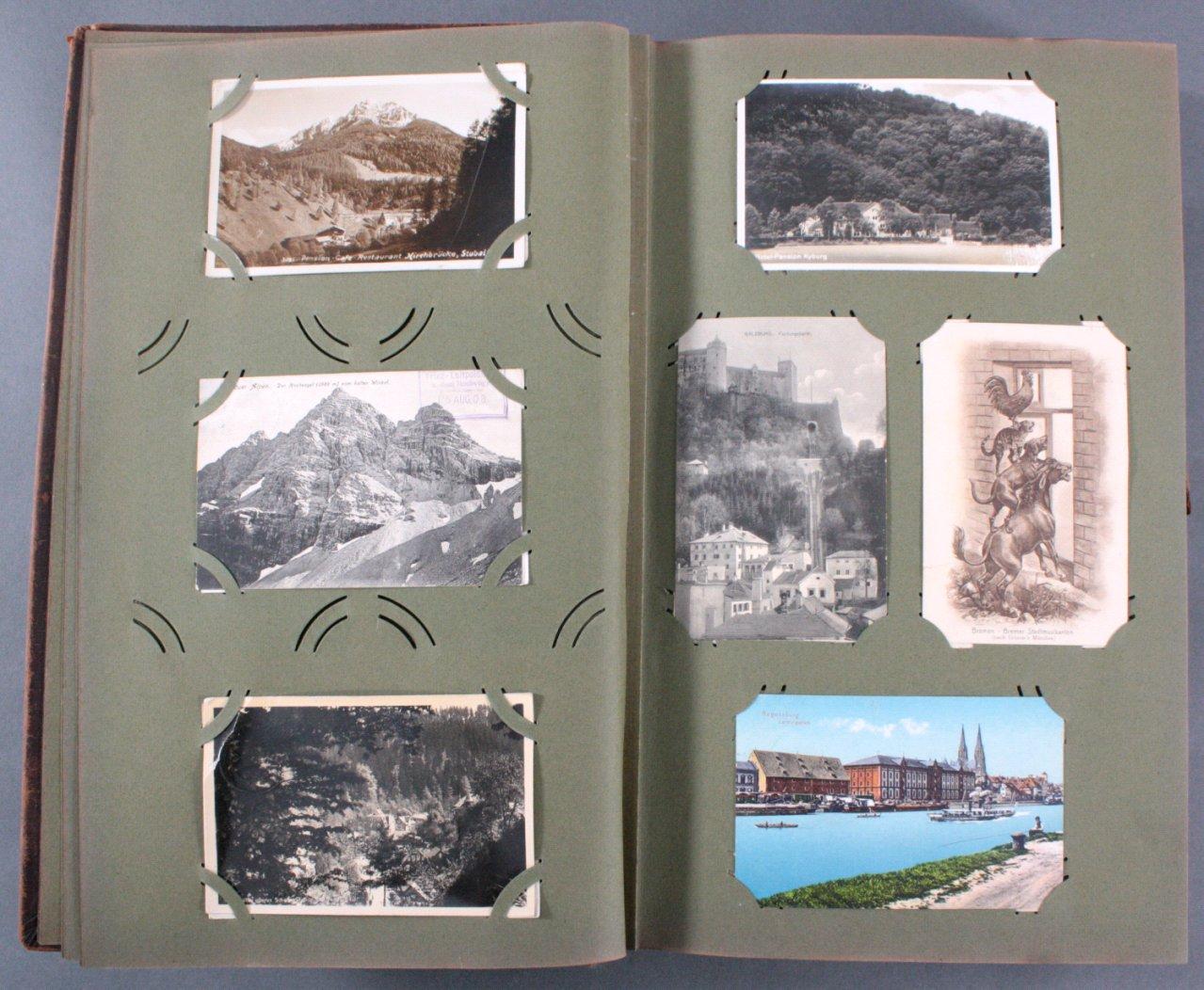 Komplett gefülltes Album mit 346 Ansichtskarten-3
