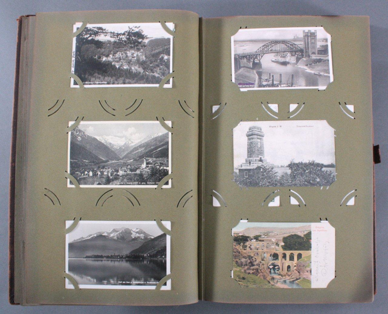 Komplett gefülltes Album mit 346 Ansichtskarten-4