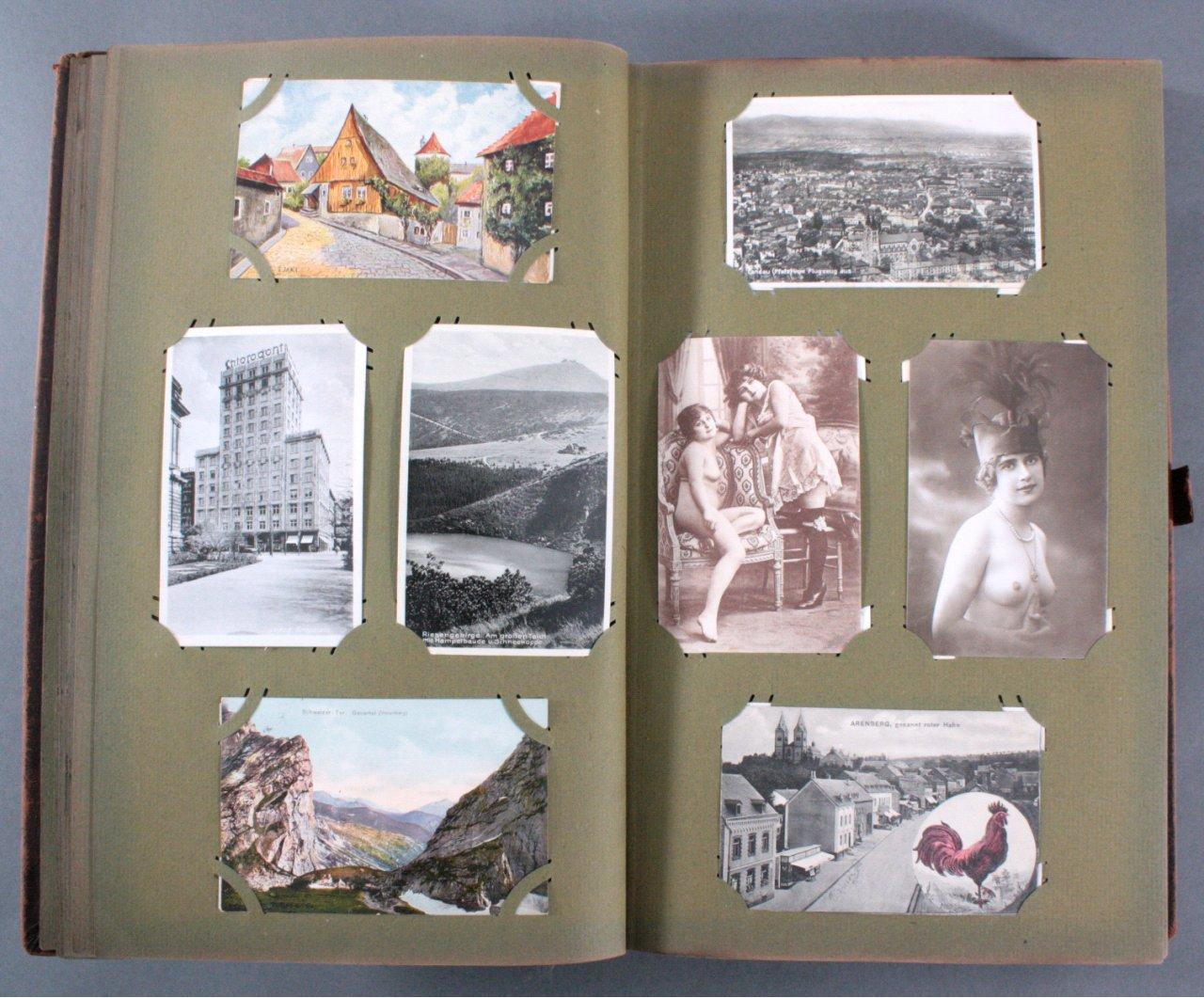 Komplett gefülltes Album mit 346 Ansichtskarten-5