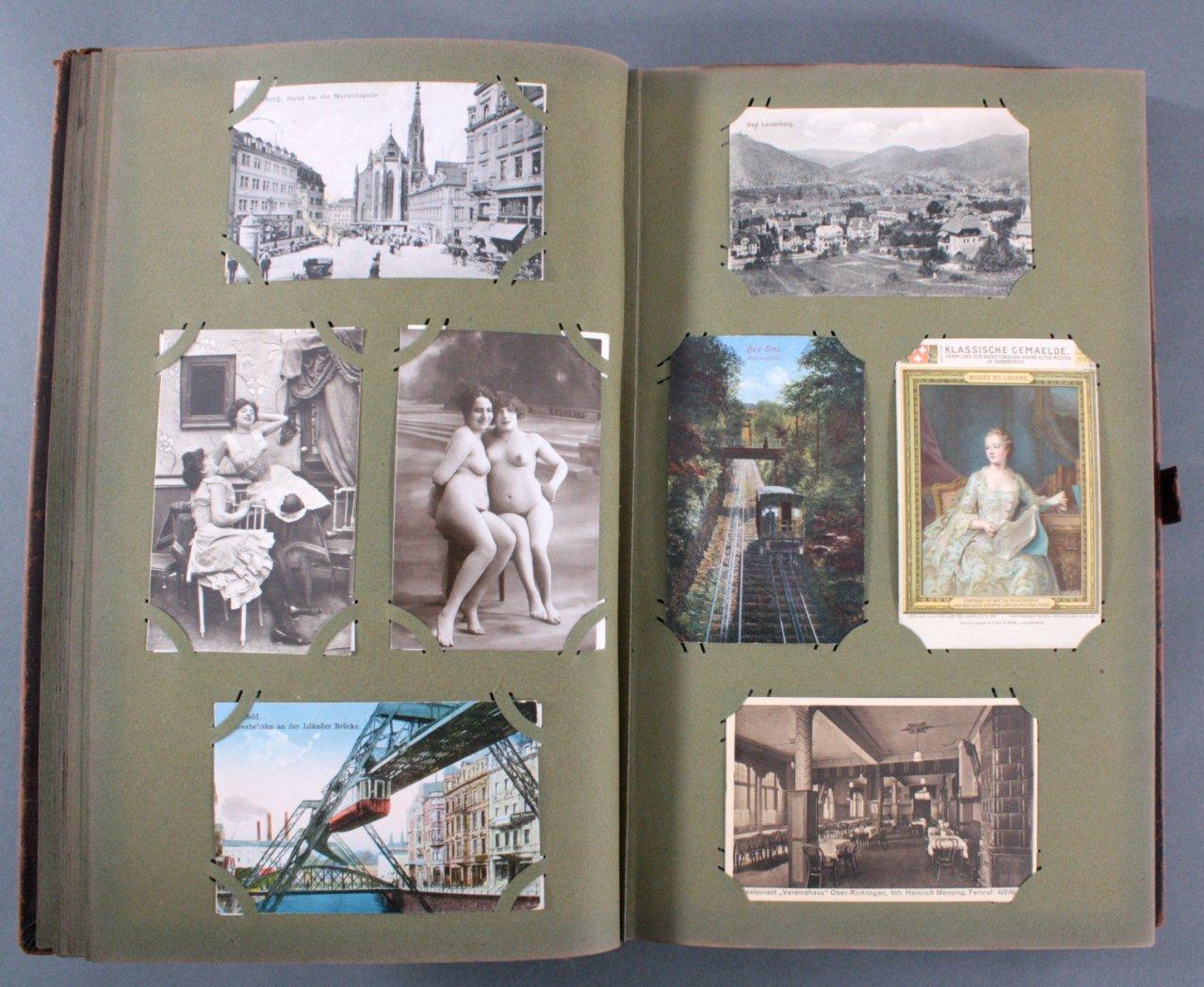 Komplett gefülltes Album mit 346 Ansichtskarten-6