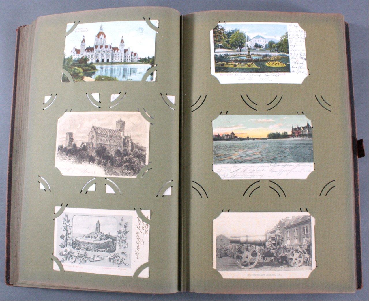 Komplett gefülltes Album mit 346 Ansichtskarten-7