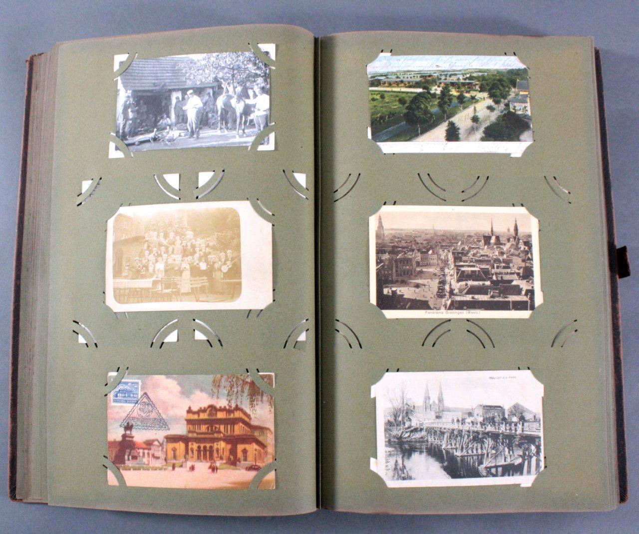 Komplett gefülltes Album mit 346 Ansichtskarten-8