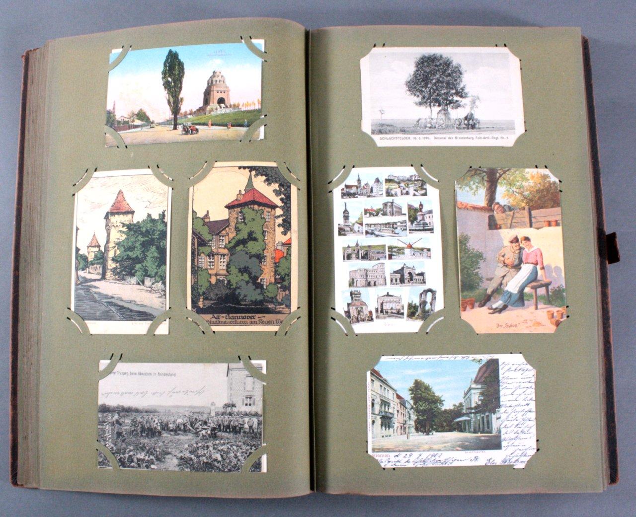 Komplett gefülltes Album mit 346 Ansichtskarten-9