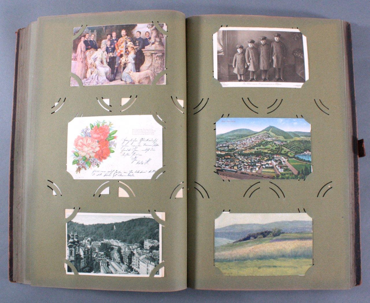 Komplett gefülltes Album mit 346 Ansichtskarten-11