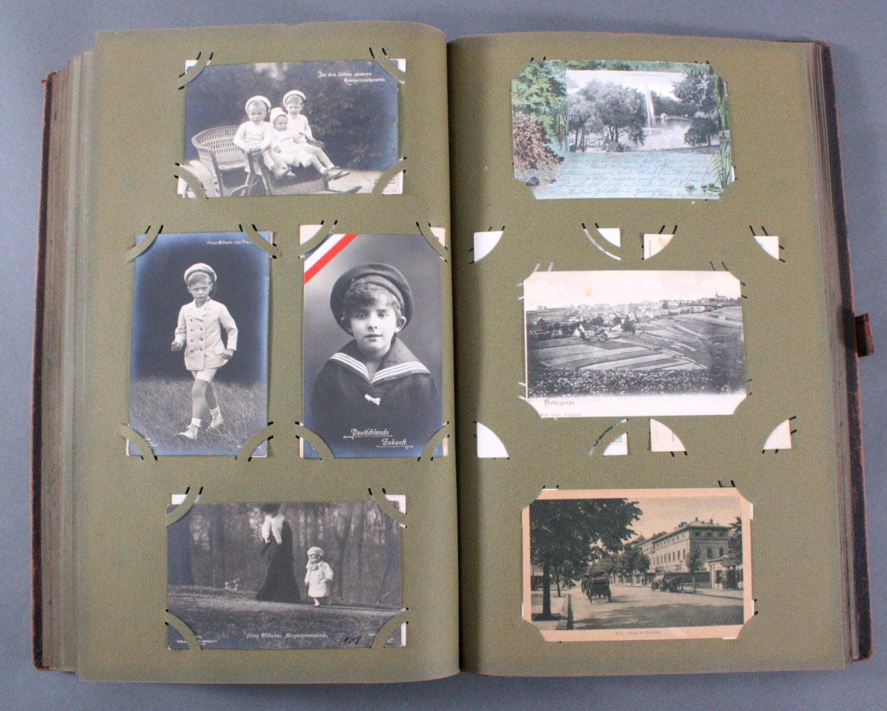 Komplett gefülltes Album mit 346 Ansichtskarten-14
