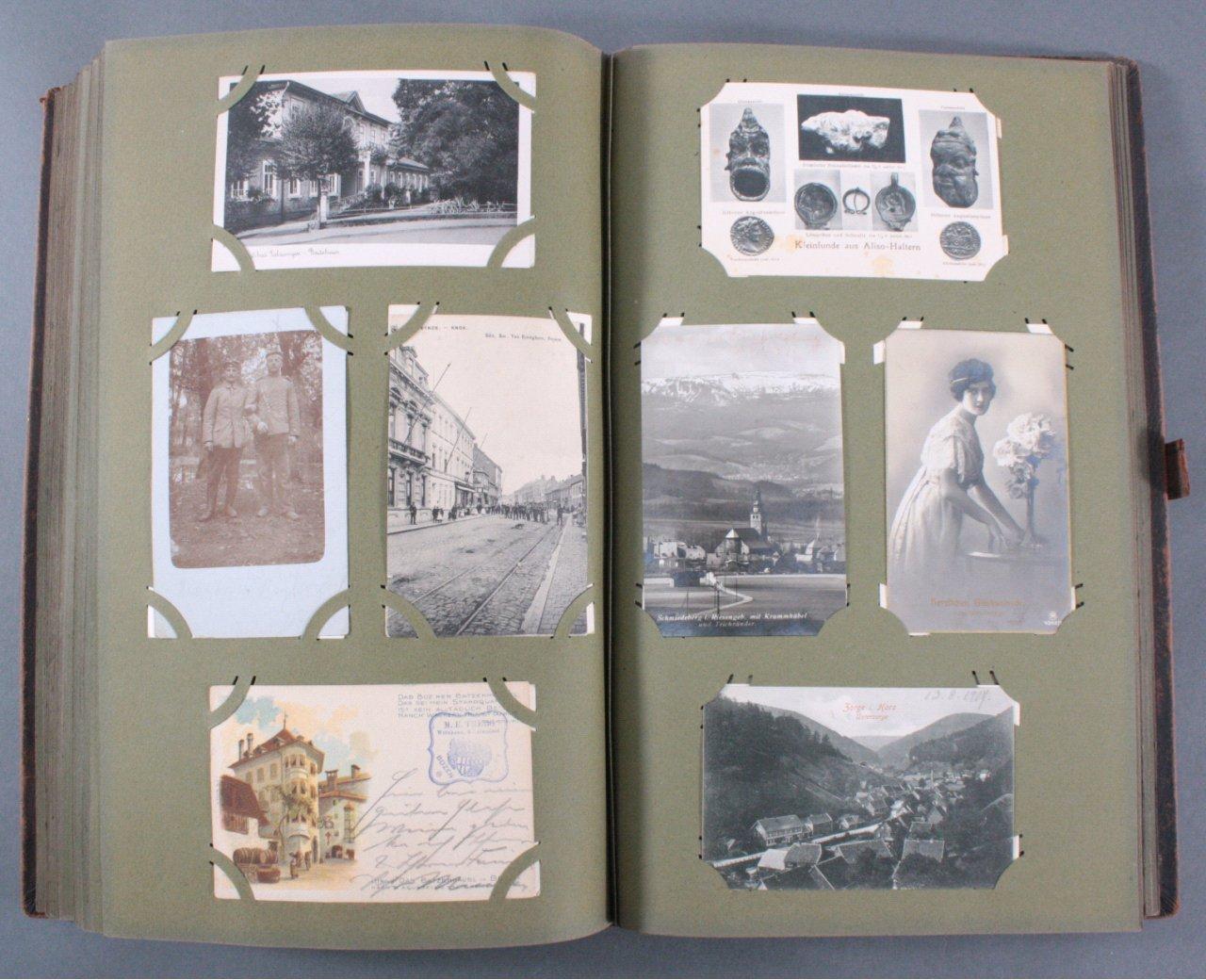 Komplett gefülltes Album mit 346 Ansichtskarten-15