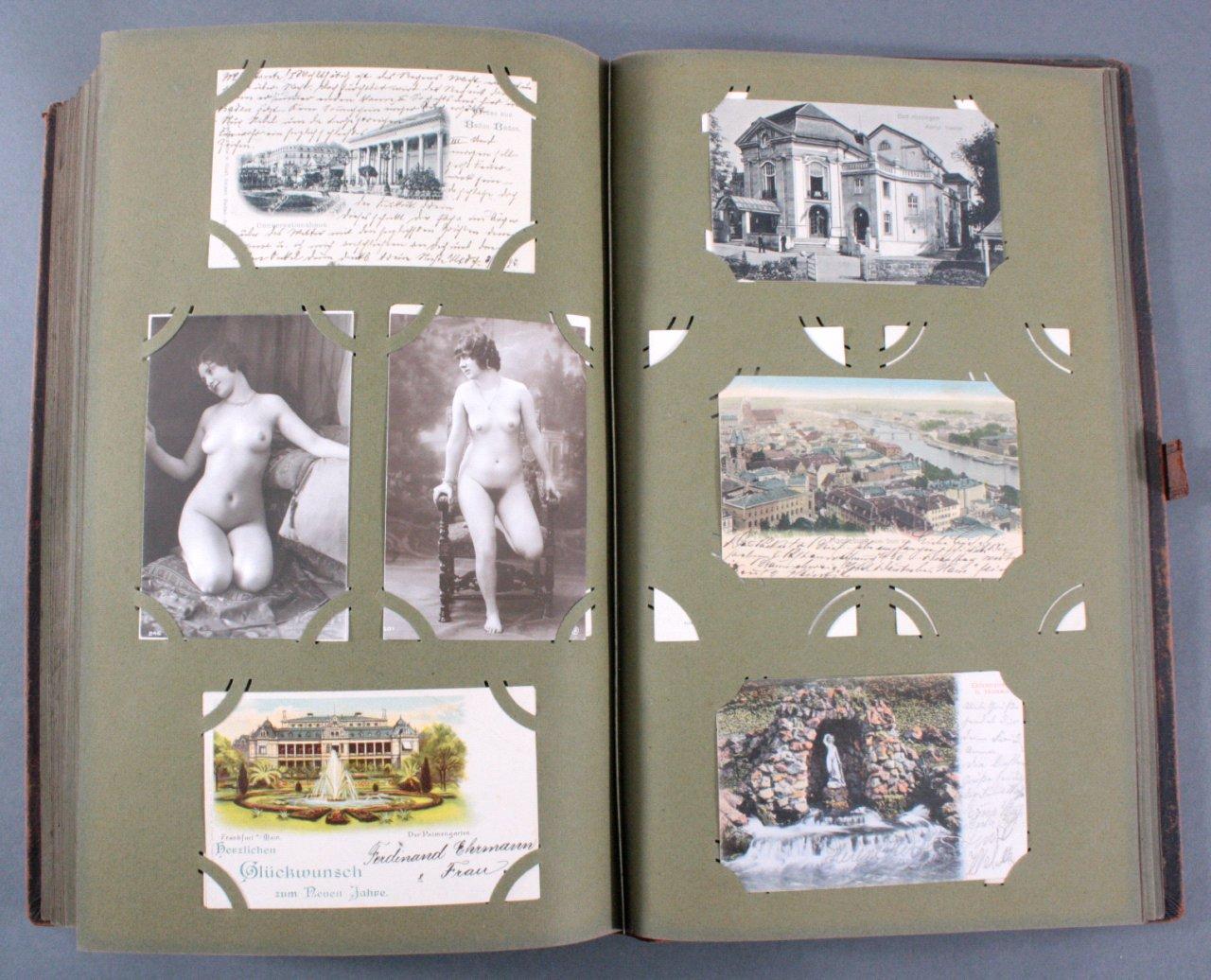 Komplett gefülltes Album mit 346 Ansichtskarten-17