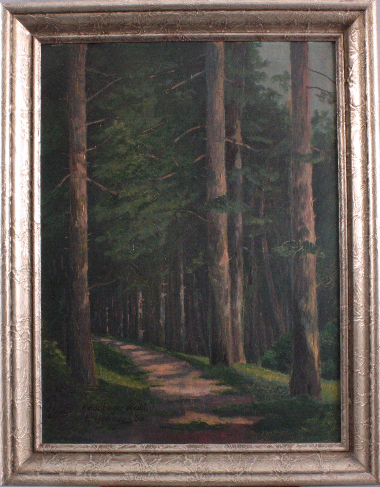 A. Heckmann, Heidelberger Wald