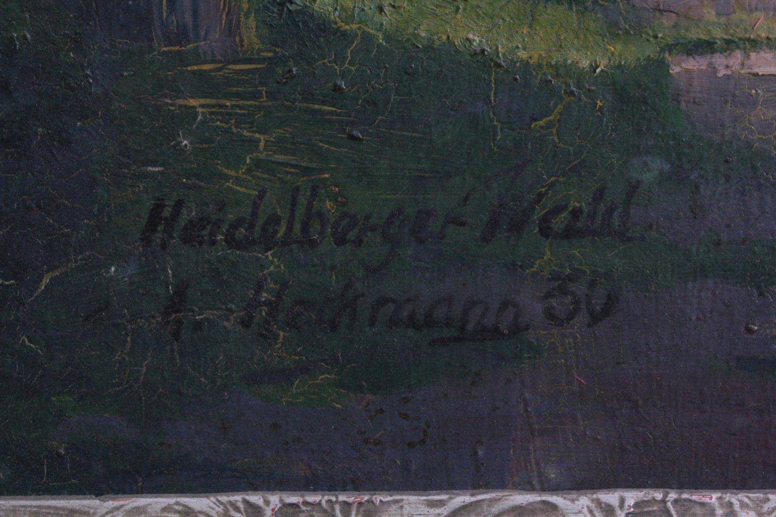 A. Heckmann, Heidelberger Wald-1