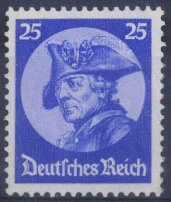 III. Reich 1933, 25 Pfennig Friedrich der Große