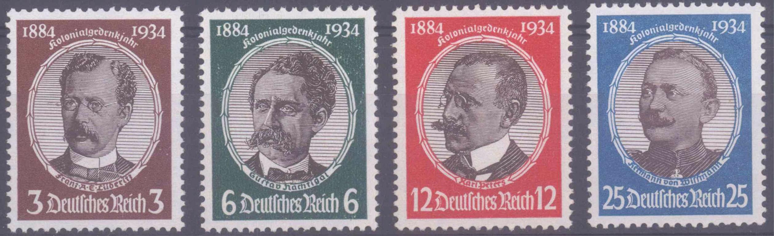 III. Reich 1934, Kolonialforscher