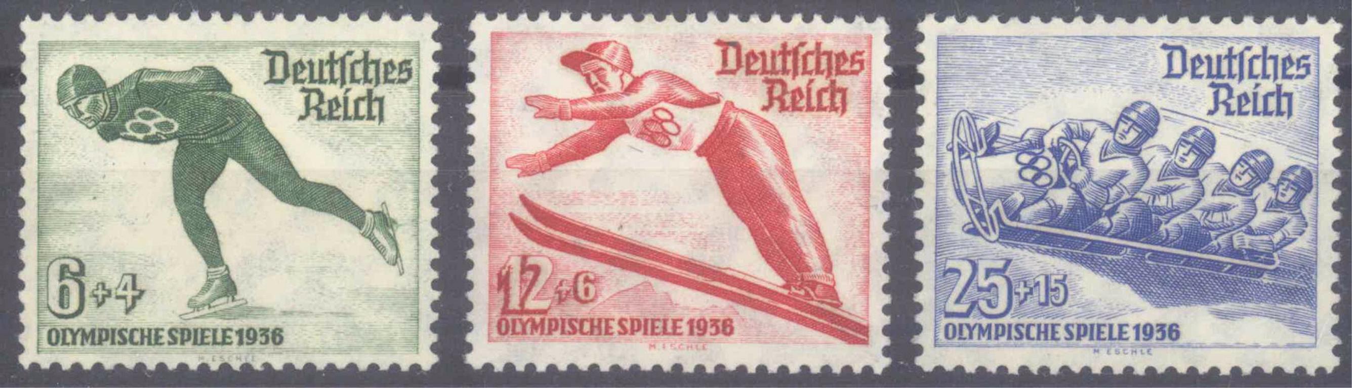 III. Reich 1935, Olympische Winterspiele 1936