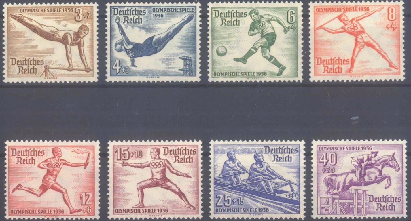 III. Reich 1936, Olympische Sommerspiele 1936