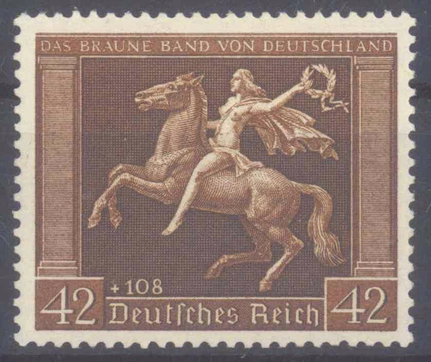 III. Reich 1938, Braunes Band