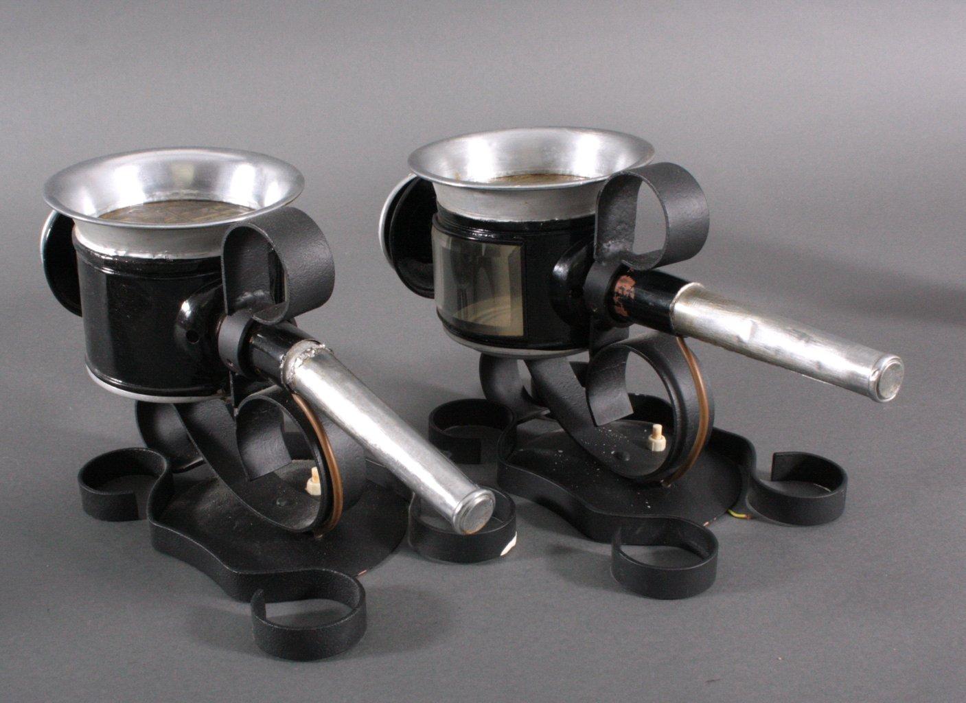 2 Kutscherlampen, Wandlampen-1