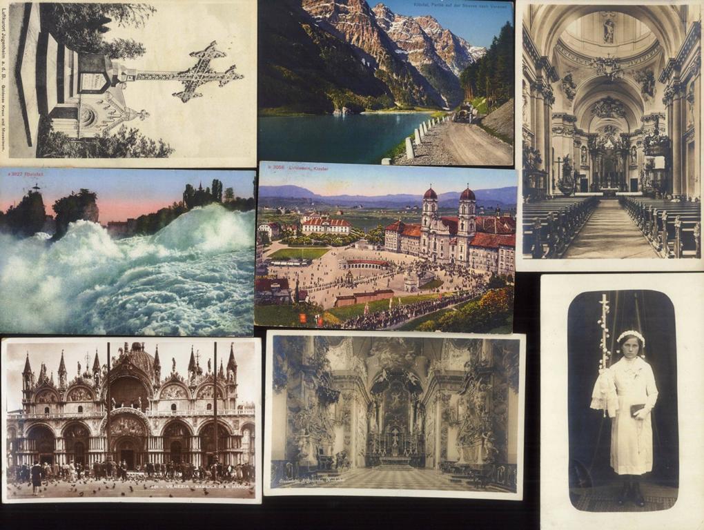 DEUTSCHES REICH, Belege und Ansichtskarten (auch Jugenheim)-1