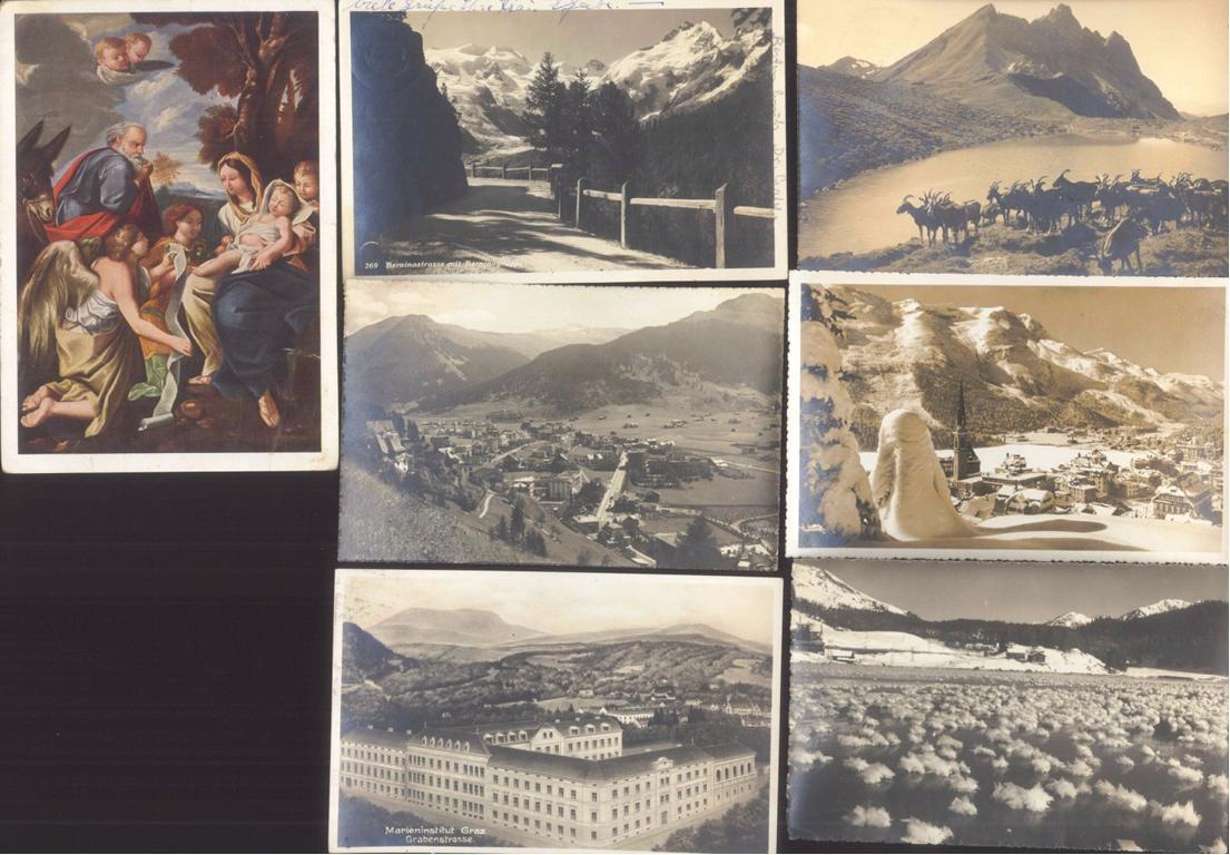 DEUTSCHES REICH, Belege und Ansichtskarten (auch Jugenheim)-2