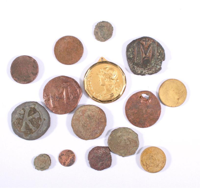 Konvolut Bodenfund Münzen und Medaillen