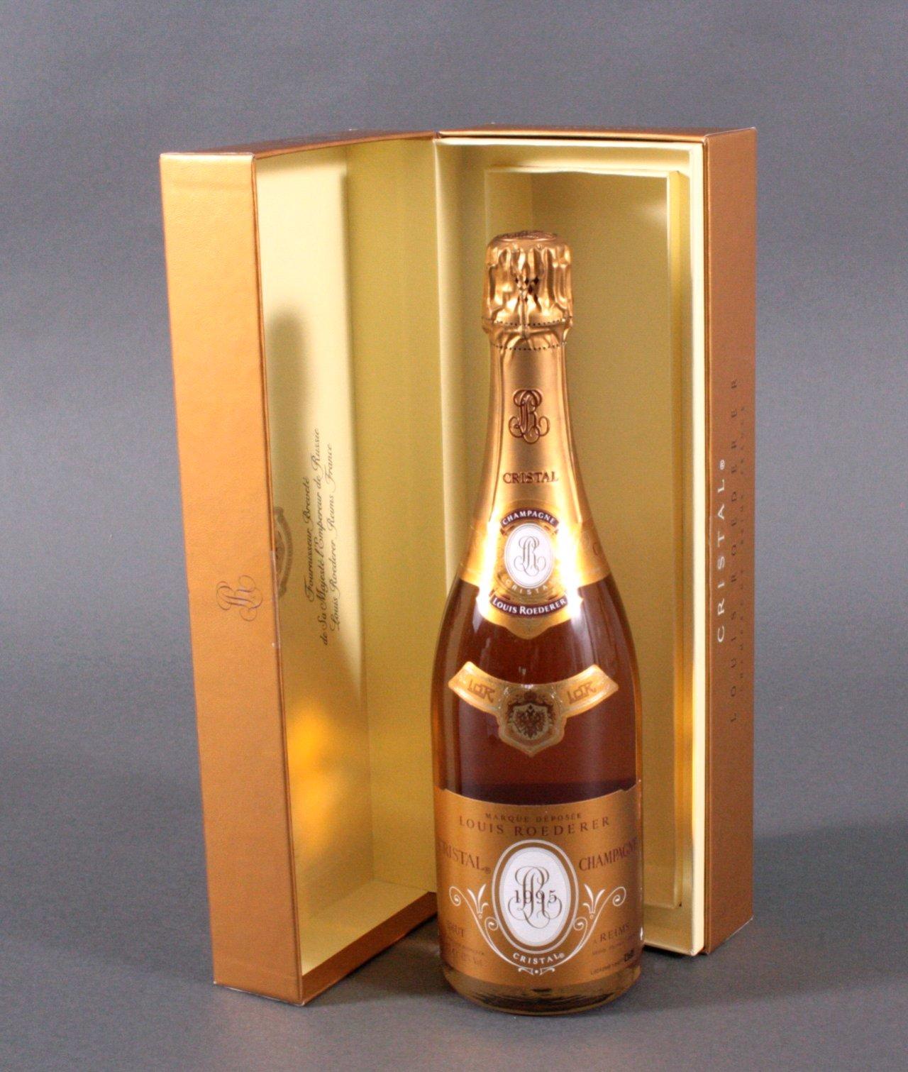 LOUIS ROEDERER CRISTAL Brut Champagner 1995