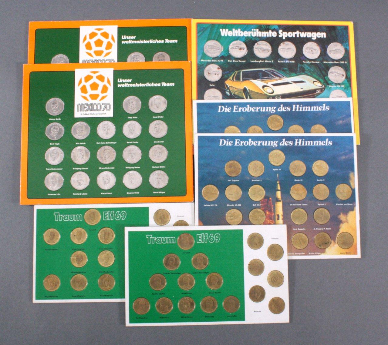 Sammmlung Medaillen