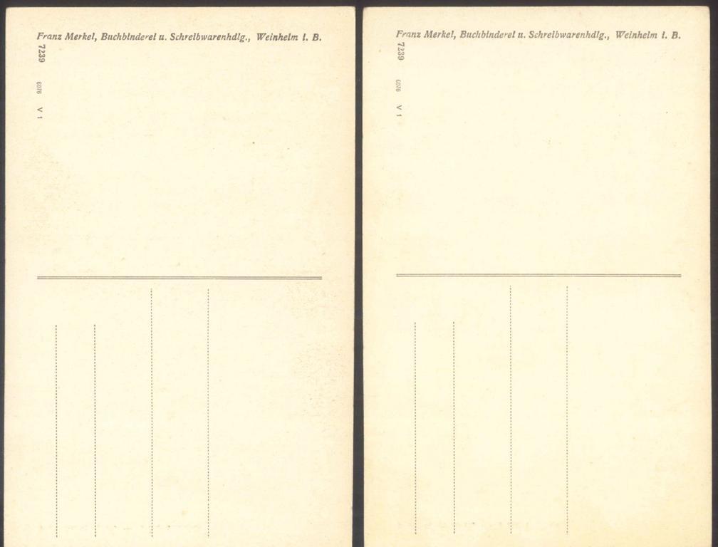 WEINHEIM BERGSTRASSE, PETERSKIRCHE …coloriert und…-1