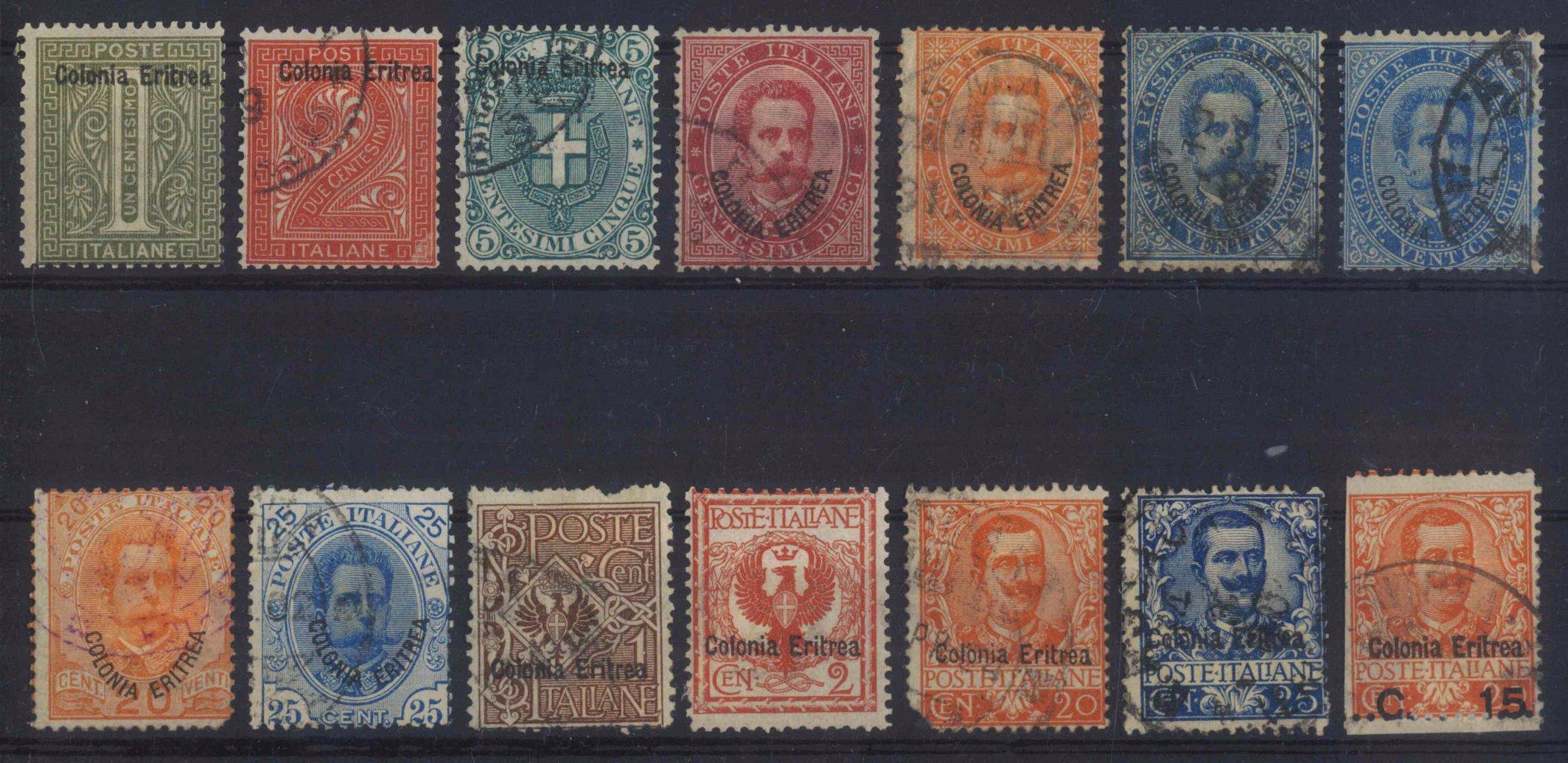 1893 ITALIENISCH-ERITREA