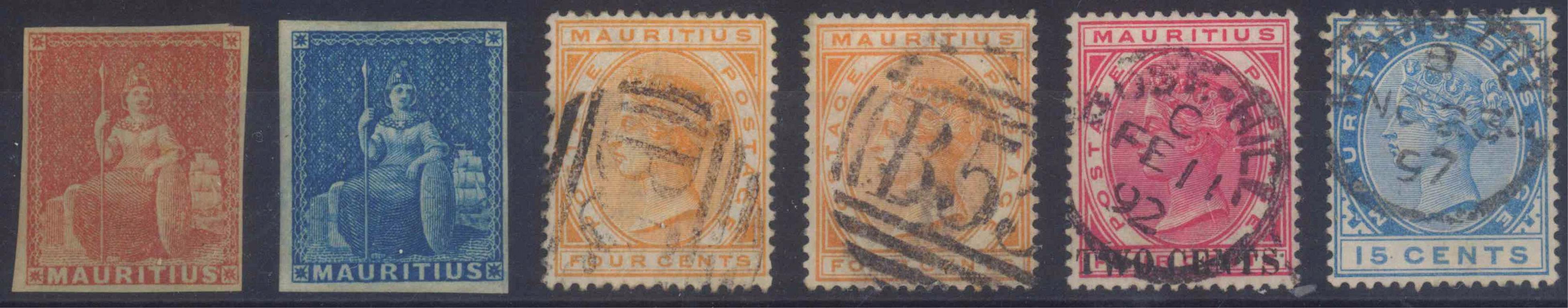 MAURITIUS, klassische Marken ab 1862