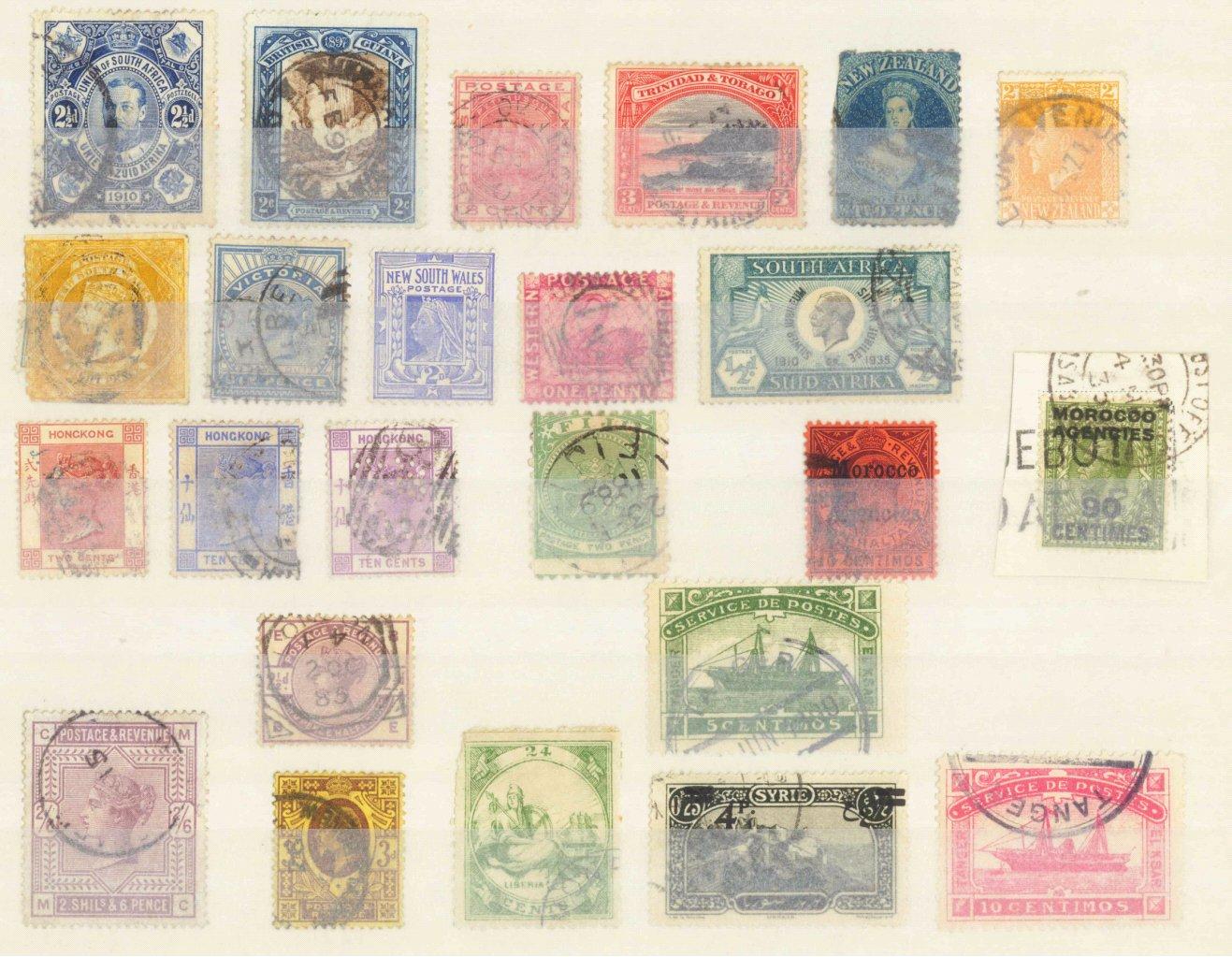 BRITISCHE KOLONIEN, klassische Marken ab 1860-1