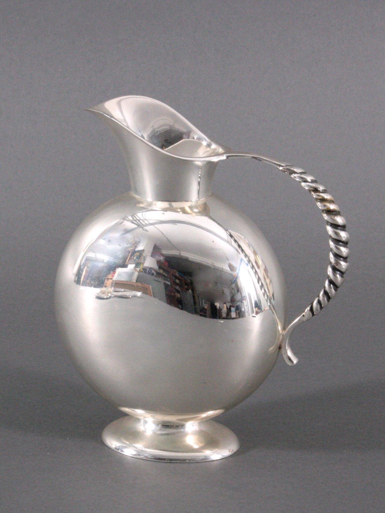 Schenkkanne, Wilkens 835er Silber