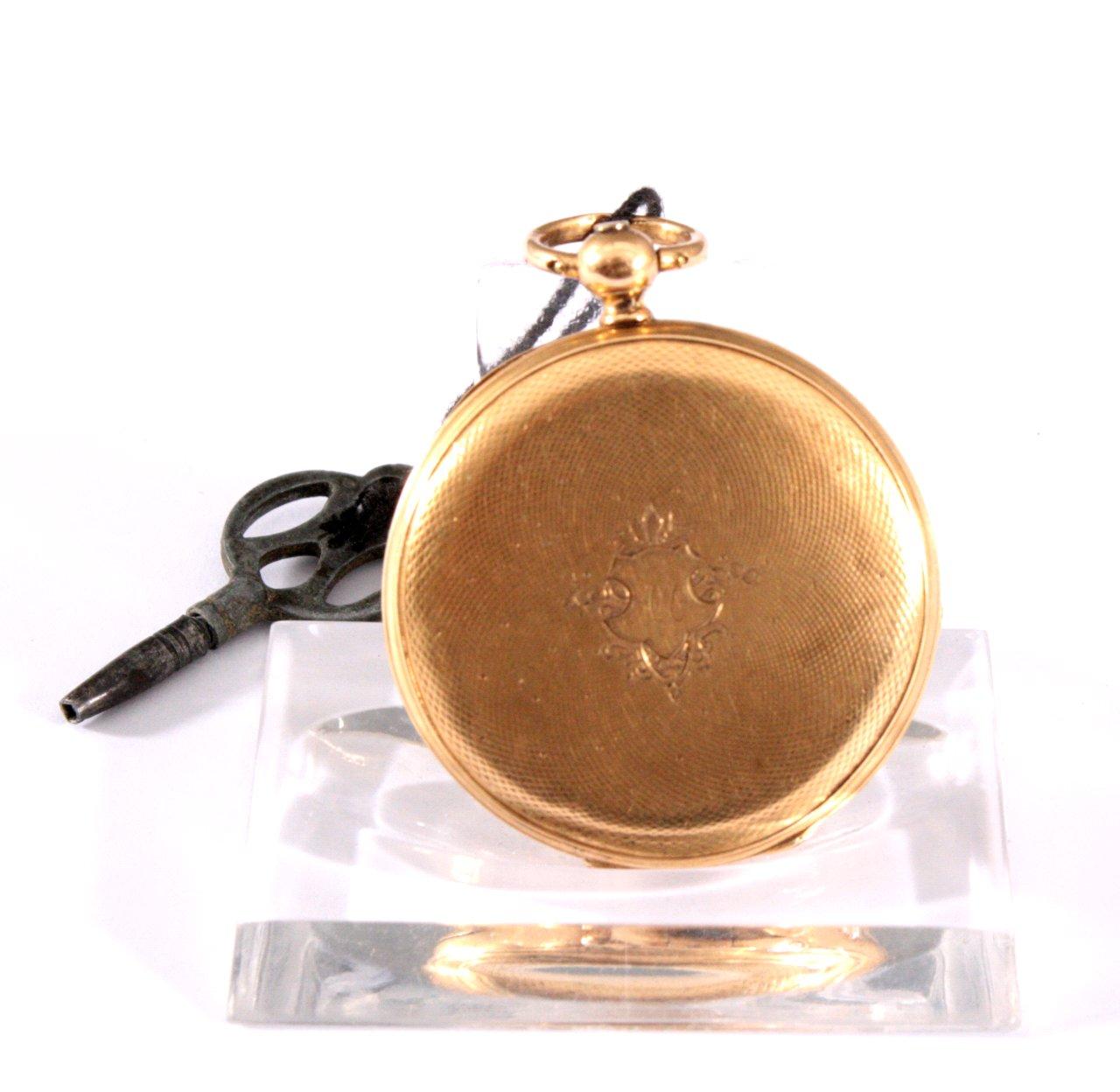 Goldene Damentaschenuhr, 19. Jh.-1