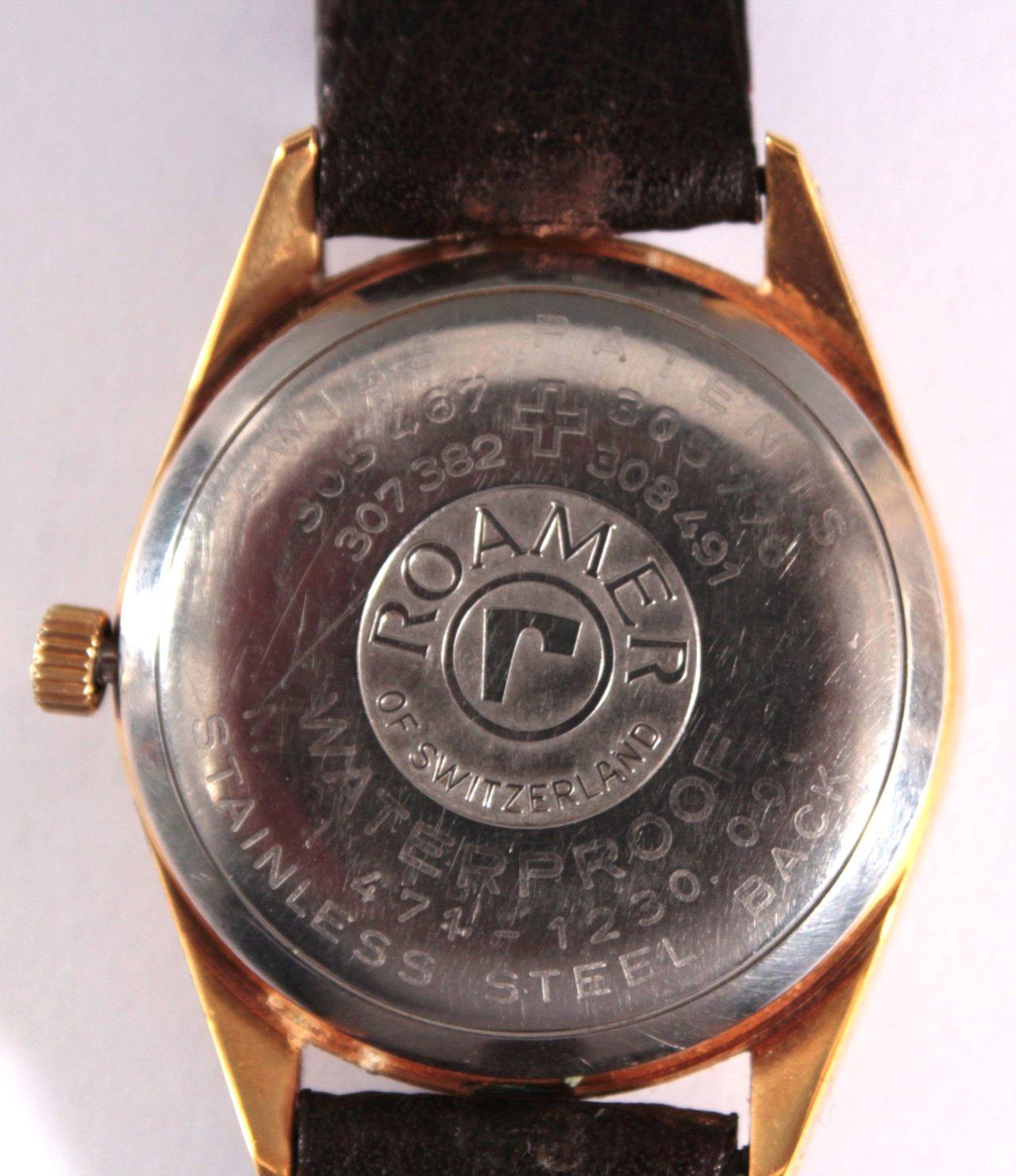 Herrenarmbanduhr der Marke Roamer, Stingray-2