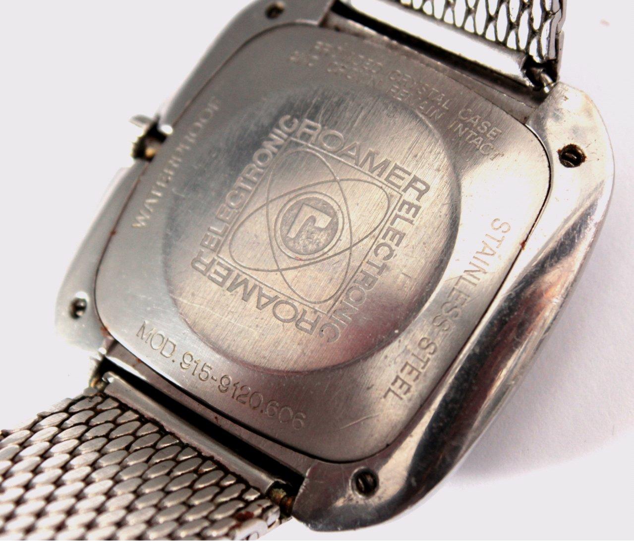 Herrenarmbanduhr der Marke Roamer aus den 80er Jahren-1