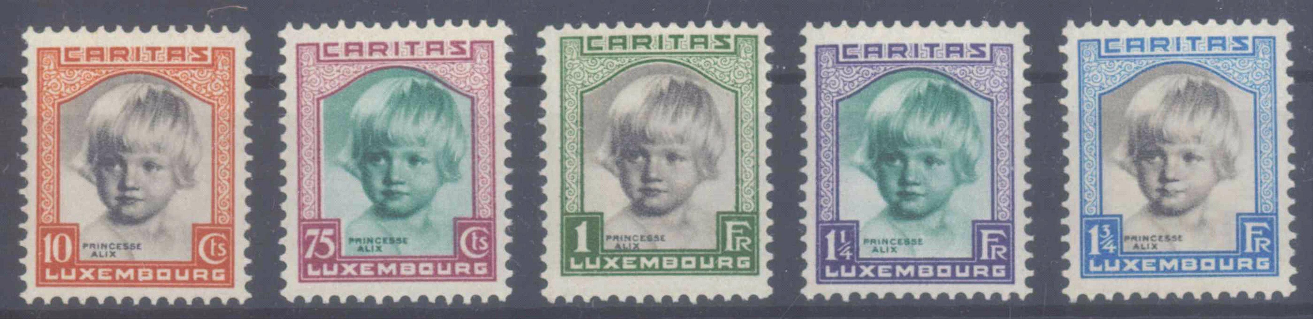 1931 LUXEMBURG, Kinderhilfe