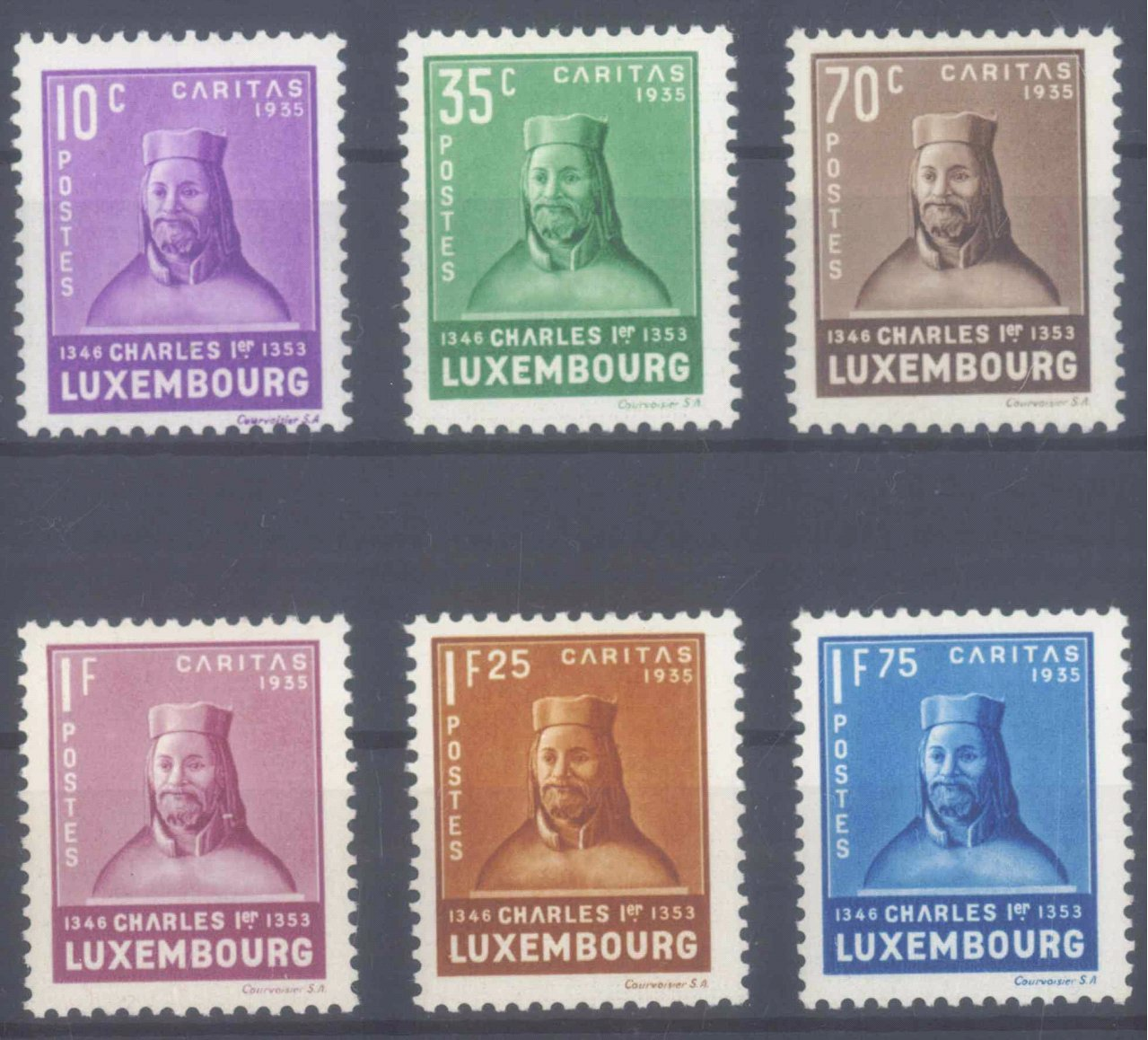 1935 LUXEMBURG, Kinderhilfe