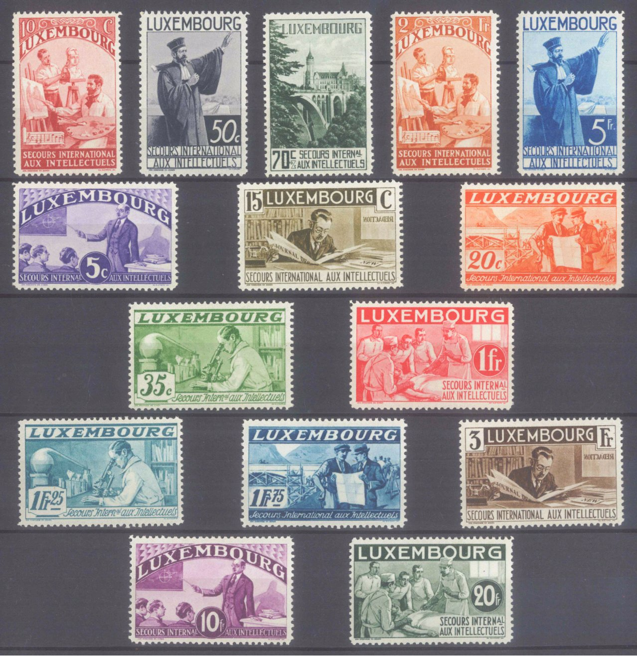 1935 LUXEMBURG, Intellektuelle