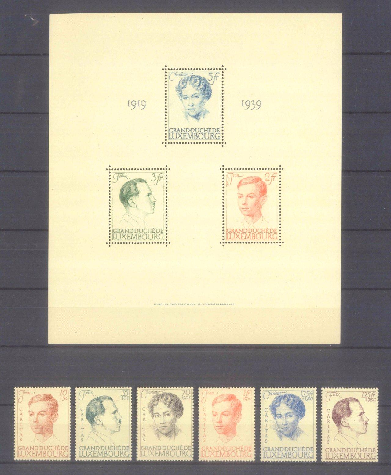 1939 LUXEMBURG, Caritas – Block