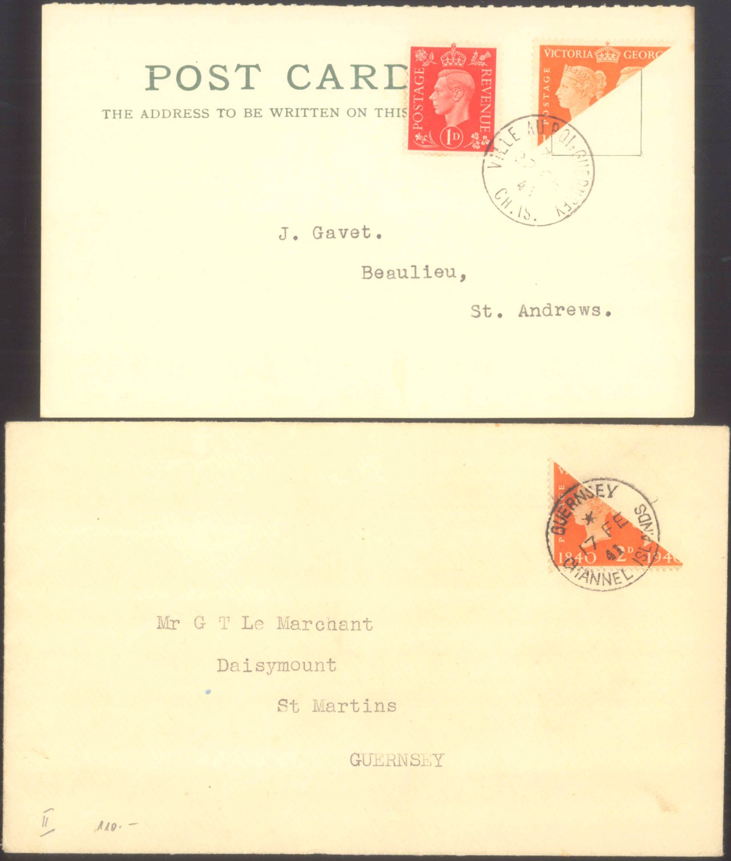1940 KANALINSELN – GUERNSEY, Deutsche Besetzung II. WK