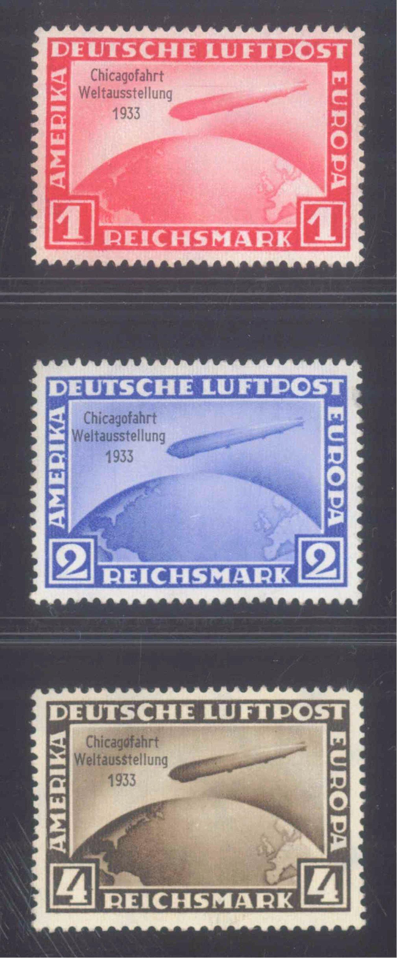 1933 III. REICH, CHICAGOFAHRT