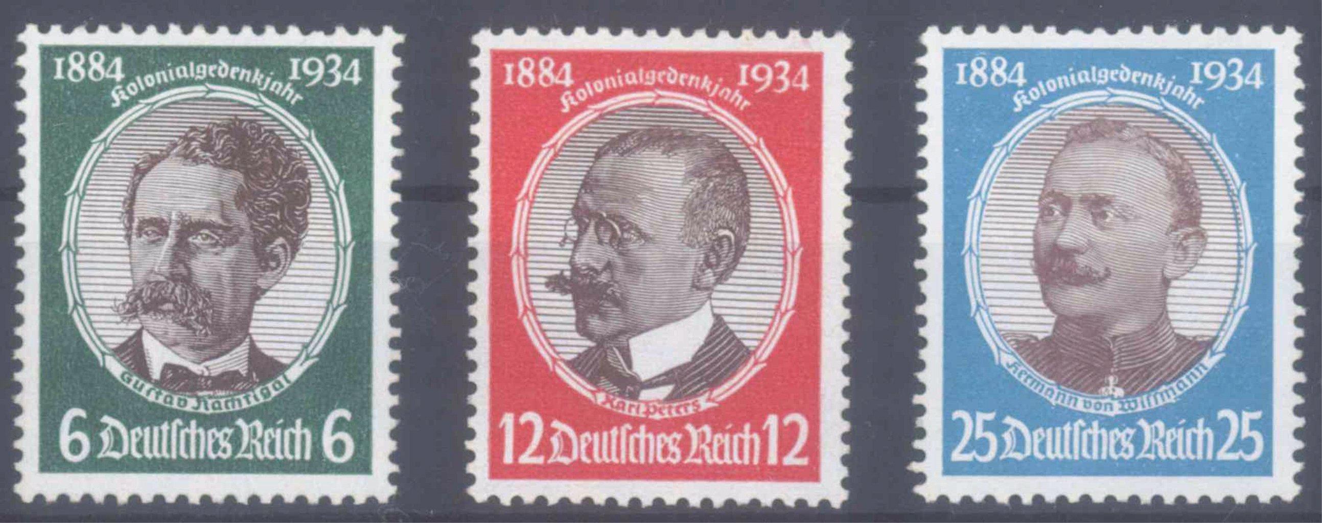 1934 III. REICH, Kolonialforscher