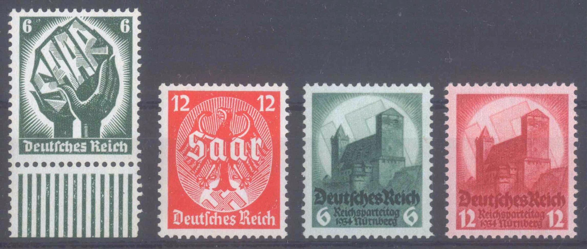1934 III. REICH, Saar und Reichsparteitag