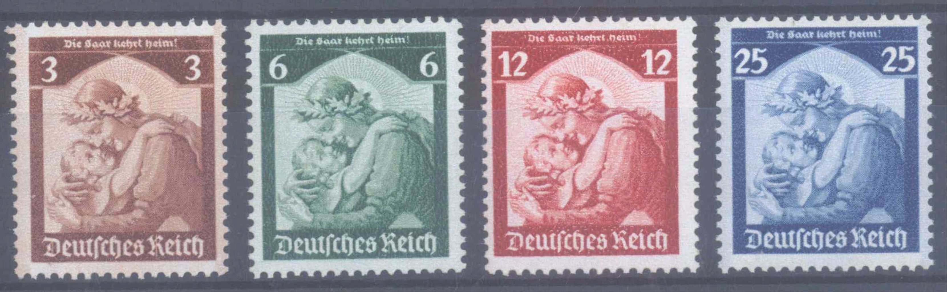 1935 III. REICH, Saar