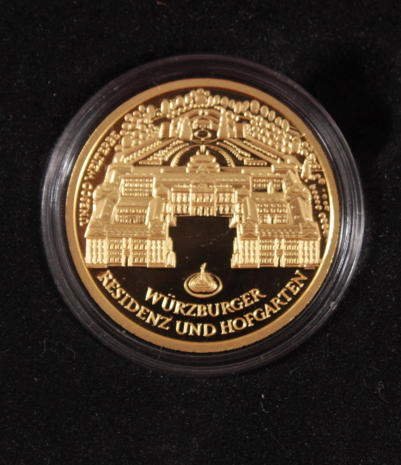 BRD 2010 F, 100 Euro – Goldmünze