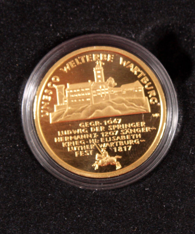 BRD 2011 J, 100 Euro – Goldmünze