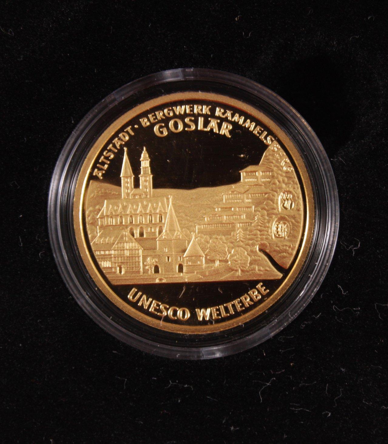 BRD 2008 A, 100 Euro – Goldmünze